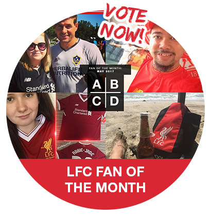 LFC Fan of the Month