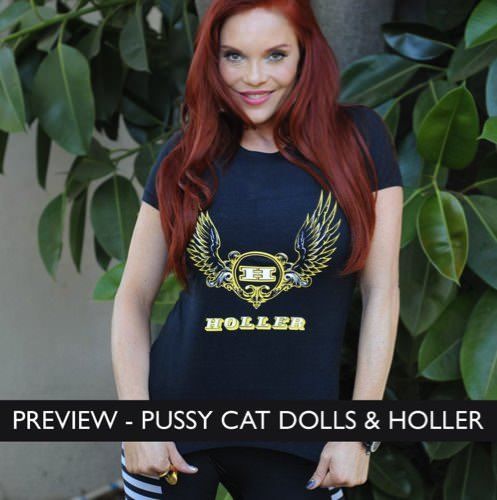 International Group The Pussycat Dolls Become Holler Ambassadors!