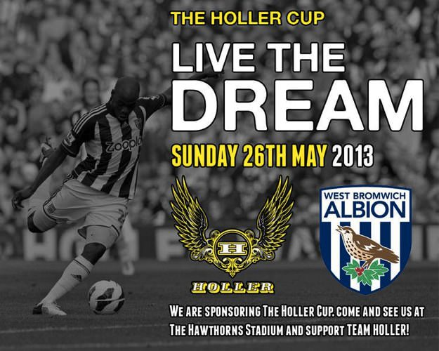 Holler Cup at the Hawthorns!
