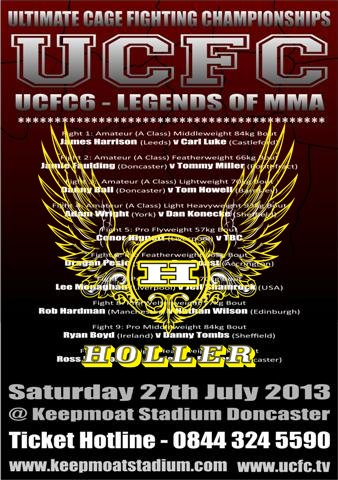 Holler Watches Are Sponsoring UCFC6
